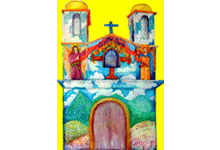 Adveniat Pfarrkirche San Agustin Etla Mexiko